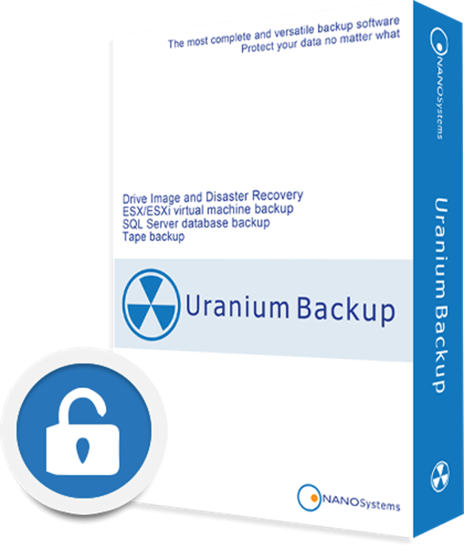 Immagine di URANIUM BACKUP PRO SHADOW