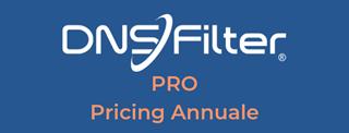 Immagine di DNS Filter Pro - Pricing Annuale
