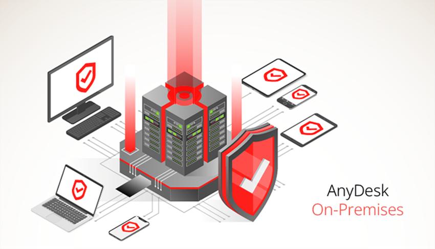 AnyDesk On-Premises la soluzione di Desktop Remoto installabile sul proprio server unica nel mercato